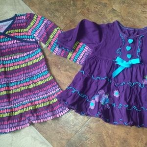 girl 24 month long sleeve dresses